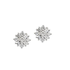 Diamant Ohrstecker 0,30 ct Weißgold 585