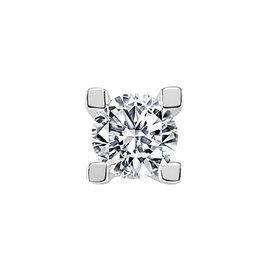 Diamant Solitär Herren Ohrstecker 0,26 ct Weißgold 585