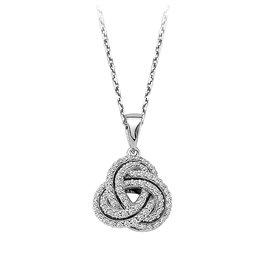 Diamant Collier 0,27 ct Weißgold 585