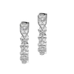 Artikel mit Schlagwort Diamant Creolen Weißgold 585