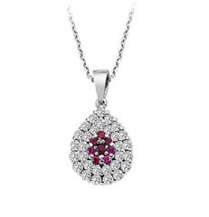 Artikel mit Schlagwort Rubin Diamant Collier Weißgold 750