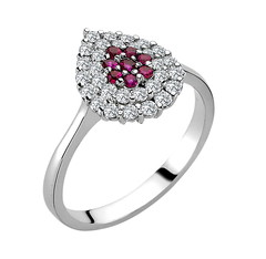Artikel mit Schlagwort Rubin Diamant Ring Gold 585