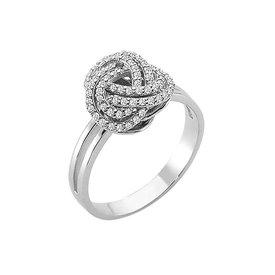 Diamantring 0,27 ct Weißgold 585