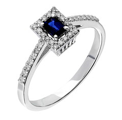 Artikel mit Schlagwort Saphir Diamant Ring Weißgold 585