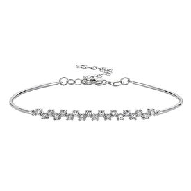 Diamant Armband 0,48 ct Weißgold 585
