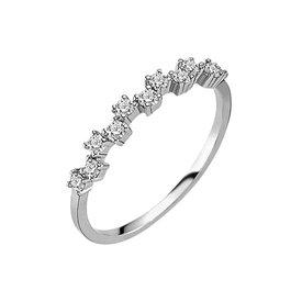 Diamantring 0,34 ct Weißgold 585