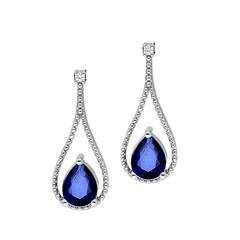 Artikel mit Schlagwort Saphir Diamant Ohrhänger Weißgold 585