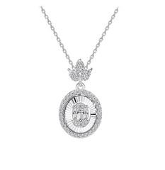 Artikel mit Schlagwort Baguette Diamant Collier Weißgold