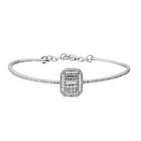 Diamant Armband 0,81 ct Weißgold 585