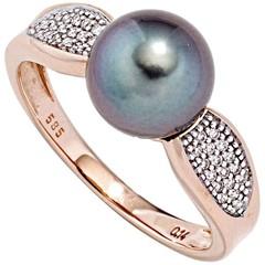 Artikel mit Schlagwort Tahitiperlen Diamant Ring Rotgold