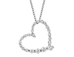 Artikel mit Schlagwort Herz Diamant Collier Gold 585