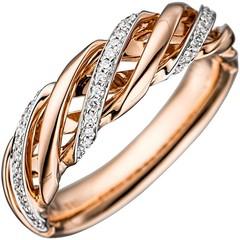 Artikel mit Schlagwort Diamantring Rotgold 585