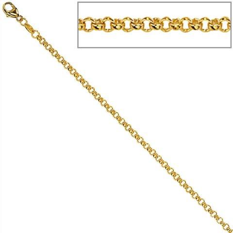 Erbskette 1,5 mm Gelbgold 333
