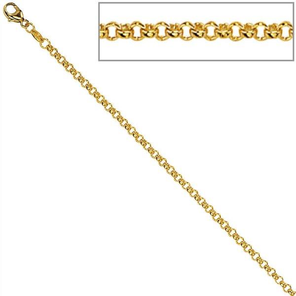 Erbskette (333) Gelbgold, 1,5 mm