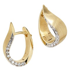 Artikel mit Schlagwort Diamant Ohrringe Gelbgold 585