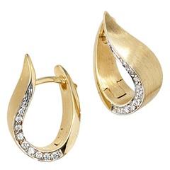 Artikel mit Schlagwort Diamant Ohrringe Gold 585