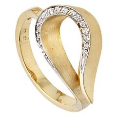 Artikel mit Schlagwort Diamantring Gelbgold