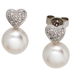 Artikel mit Schlagwort Perlen Ohrringe Gold
