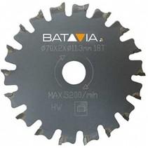 RACER TCT zaagbladen - 2 stuks – ∅ 70 MM x 1,4 mm x 18 tanden van WorkZone