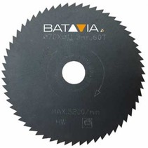 RACER HSS saw blades - 2 pieces - ∅ 70mm x 1,4mm x 44 teeth from WorkZone