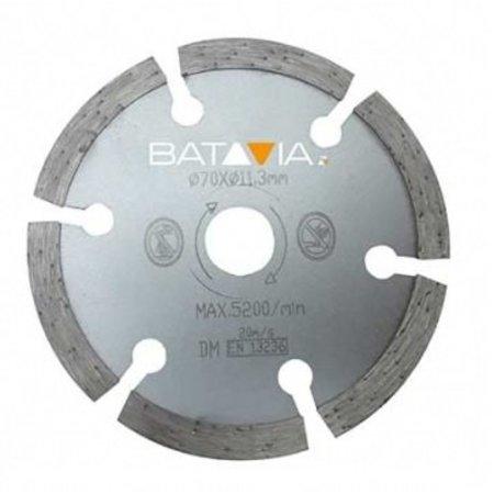 Batavia Lames de scie en diamant RACER - 2 pièces -∅ 70 MM x 1,8 MM de WorkZone