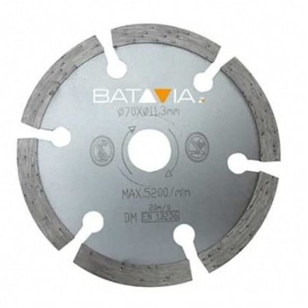 Batavia RACER Diamond saw blades - 2 pieces -∅ 70 MM x 1.8 MM from WorkZone