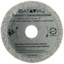 Lames de scie en diamant RACER - 2 pièces -∅ 50 MM x 1,45 MM de WorkZone