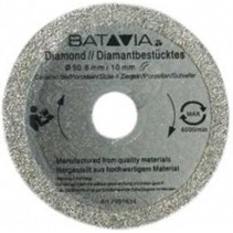 RACER Diamond saw blades - 2 pieces -∅ 50 MM x 1.45 MM from WorkZone