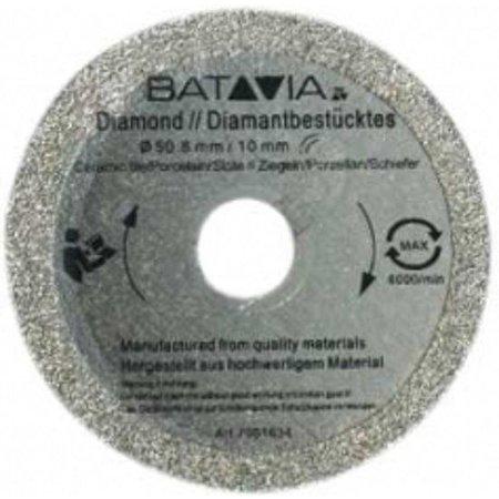 Batavia Lames de scie en diamant RACER - 2 pièces -∅ 50 MM x 1,45 MM de WorkZone