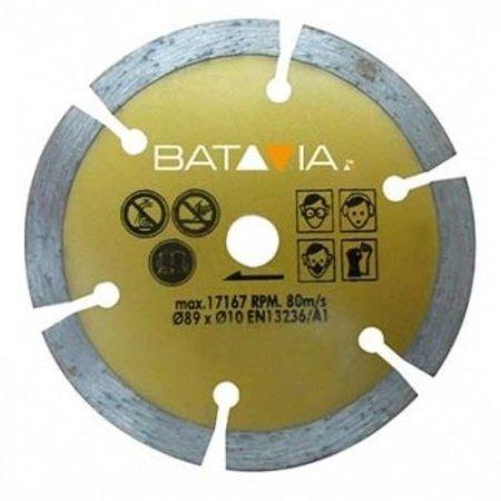 Batavia MAD MAXX Diamant zaagblad ∅ 89 MM