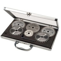MAXX SAW & XXL SPEED SAW saw blade set - 6 pieces - in aluminum case