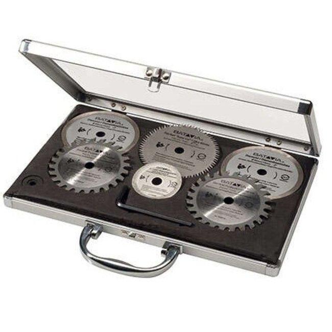 Batavia MAXX SAW & XXL SPEED SAW saw blade set - 6 pieces - in aluminum case