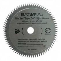 HSS saw blade Ø 85 mm. 80 Teeth - 2 pieces - MAXX SAW & XXL SPEED SAW