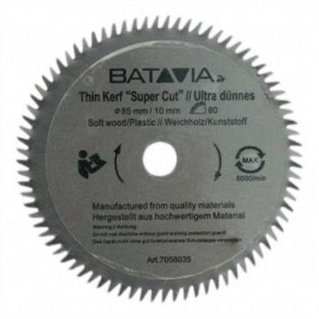 Batavia HSS zaagblad Ø 85 mm. 80 Tanden – 2 stuks - MAXX SAW & XXL SPEED SAW