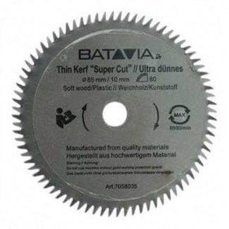 Batavia HSS saw blade Ø 85 mm. 60 Teeth - 2 pieces - MAXX SAW & XXL SPEED SAW