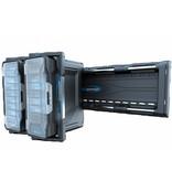 BluCave Wandschiene für vier Koffer