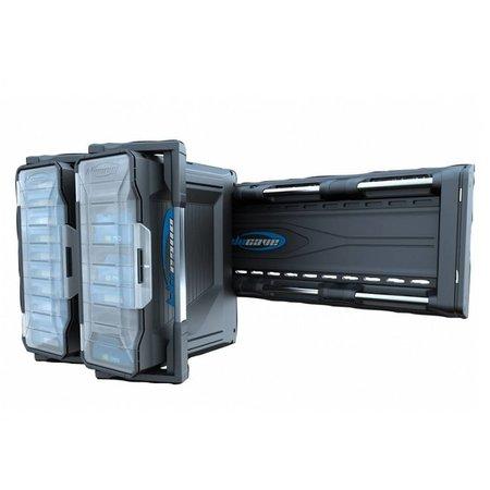 BluCave Rail système pour quatre cas