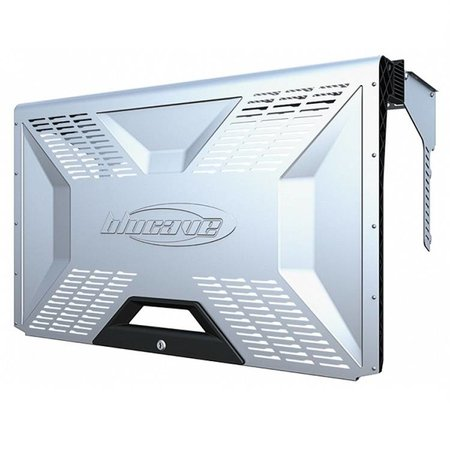 BluCave lockable steel hood
