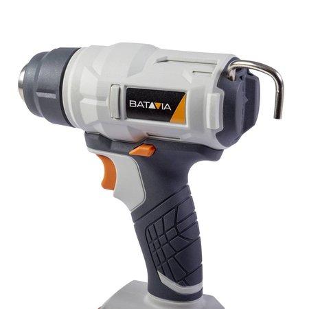Batavia Pistolet à air chaud à batterie 18V | Collection Maxxpack