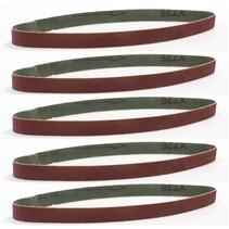 Set schuurbanden 8 mm – K120   5 stuks