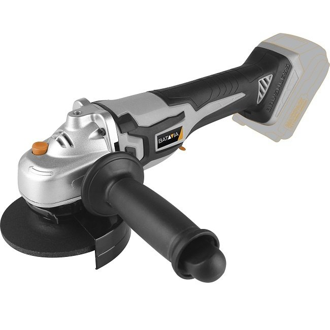 Batavia Cordless angle grinder - Brushless - 18V   Excl. Battery and Charger   MaxxPack Battery Platform