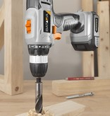 Cordless drill + Cordless screwdriver | Incl. battery and charger Maxxpack