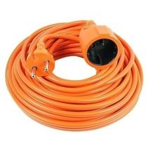 Vekto Verlängerungskabel 10 Meter Wunschkabel orange 2500 Watt