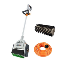 Maxxdeal | MaxxBrush surface cleaner with extension cord and extra multi nylon material brush