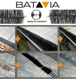 Batavia 2 Dachrinnenfliesen   8 Meter   Dachrinnenschutz