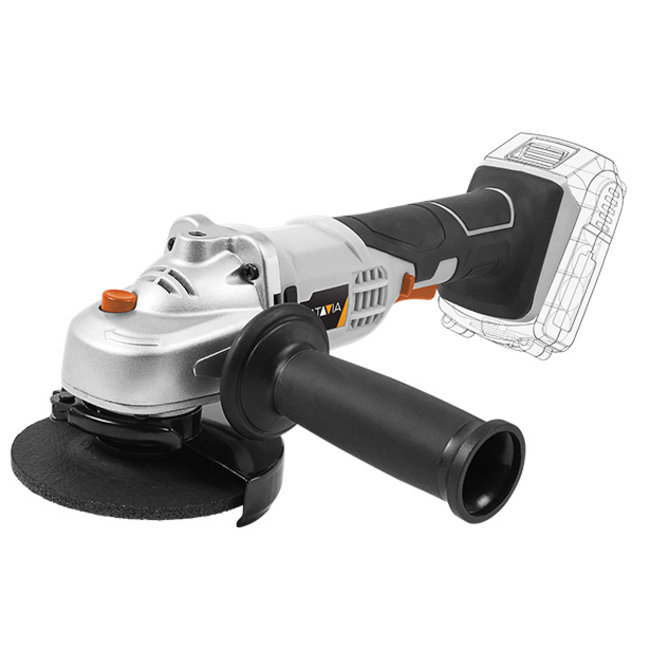 Batavia Battery Angle Grinder - 18V | Excl. Battery and Charger | MaxxPack Battery Platform