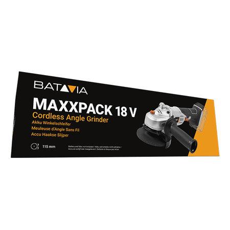 Batavia 18V Akku Winkelschleifer | MAXXPACK Collection | exkl. Akku