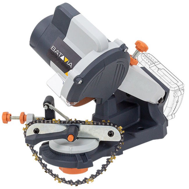 Batavia Battery Chain Sharpener - 18V | Excl. Battery and Charger | MaxxPack Battery Platform