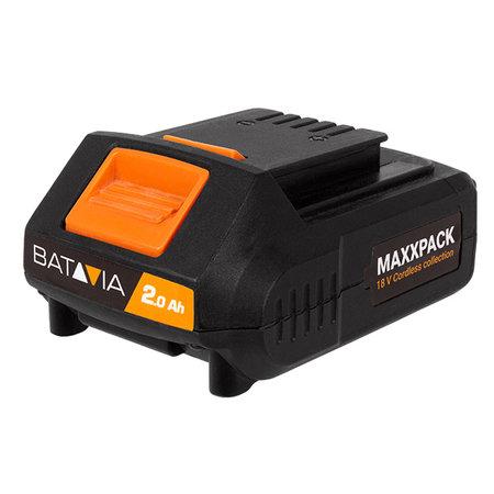 Batavia Batavia 18V cordless drill, jigsaw and multi sander | combi set