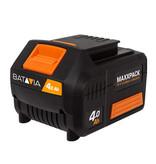 Batavia Accu éénhandszaag - Nexxsaw - 18V   Incl. 4.0Ah Accu en Snellader   MaxxPack Accuplatform